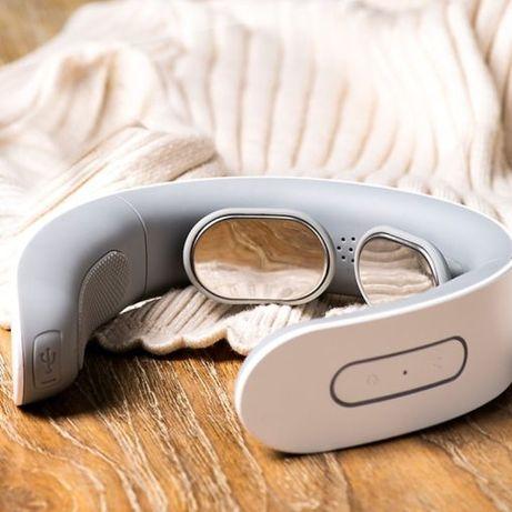 Elektryczny masażer szyi i ramion, fizjoterapia kręgu szyjnego