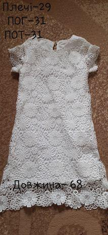 Круживне  плаття на 6, 7, 8 років