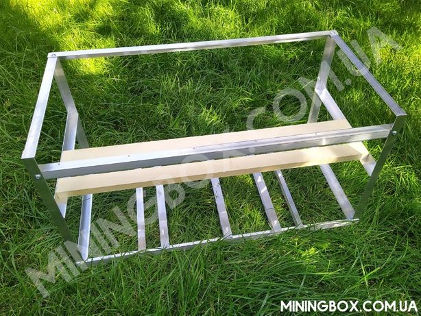 Каркас, корпус, риг 70x35x35 см для майнинг фермы для 5-6-7 видеокарт