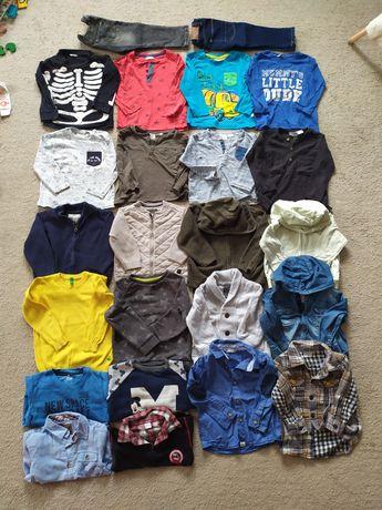 Ubranka 86 całość Zara Reserved Benetton bluza bluzka