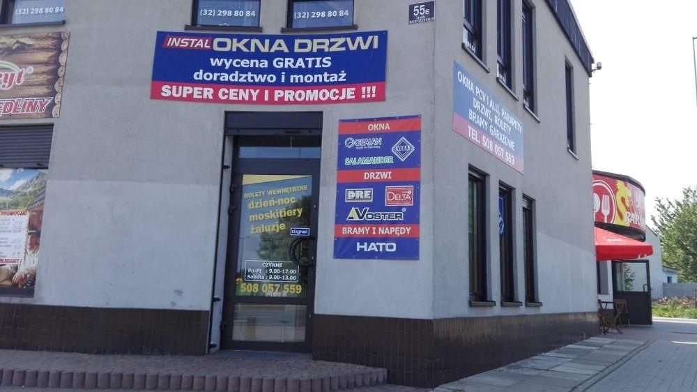 Okno PCV białe 146,5x143,5 IRPLAST IDEAL4000 Sosnowiec - image 1