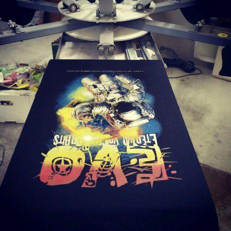 Печать на футболках|пакетах|крое|бирки