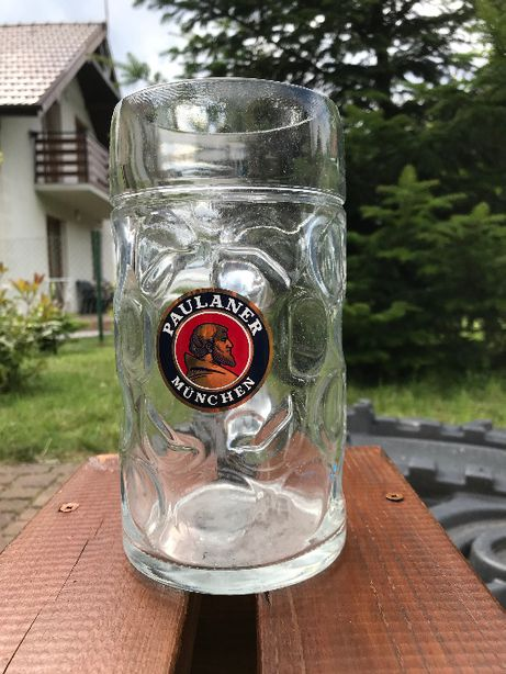 Kufle na piwo: Paulaner munchen, Bitburger,  LOOS international
