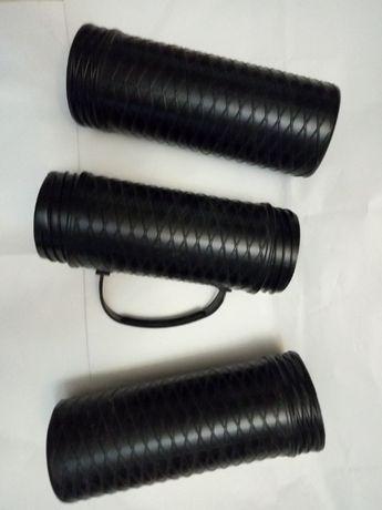 тубус для ватмана чертежей б/у черный пластиковый 9х66