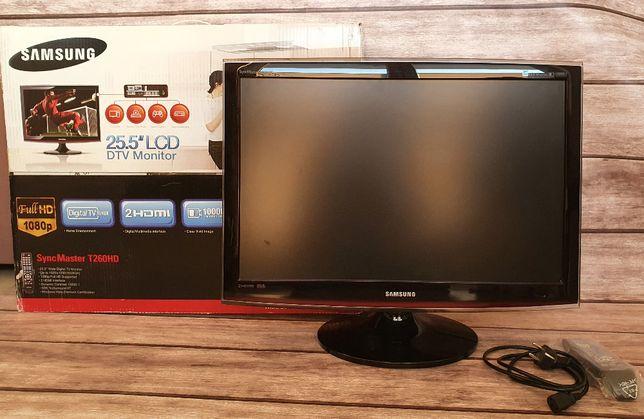 Monitor Samsung T260HD z tunerem TV, 1920x1200