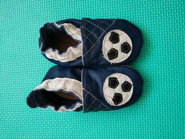 Nowe kapcie skórzane buciki Ekotuptusie Fiorino