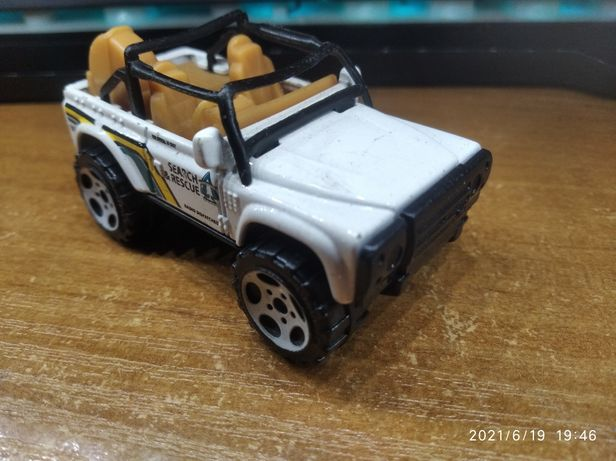 Land Rover SVX Matchbox MB 628 Bardzo Rzadki