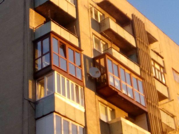 Балкон. лоджи. козирків. Вікна