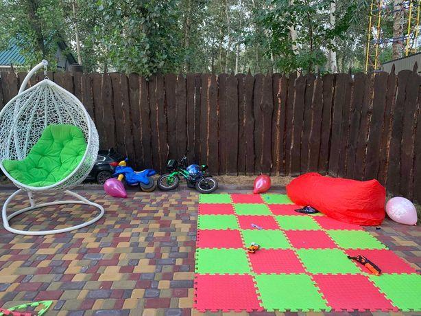 Маты спорт, татами, ласточкин хвост, детский коврик-пазл, EVA  Турция