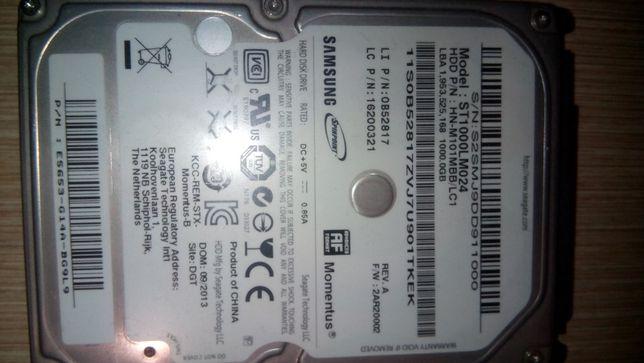 Жесткий диск для ноутбука Samsung ST1000LM024-емкость1TB