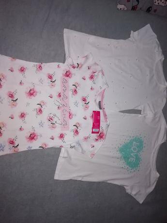 T-shirt 3 sztuki dziewczęce rozmiar 158
