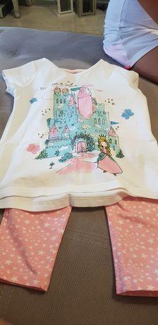 Piżama 128 dziwczynka