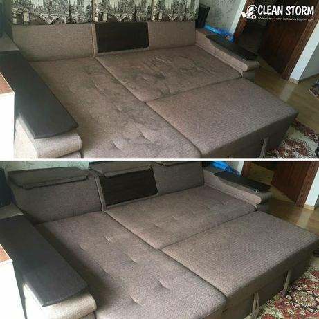 Химчистка дивана, ковров, матрасы, диванов, ковролина