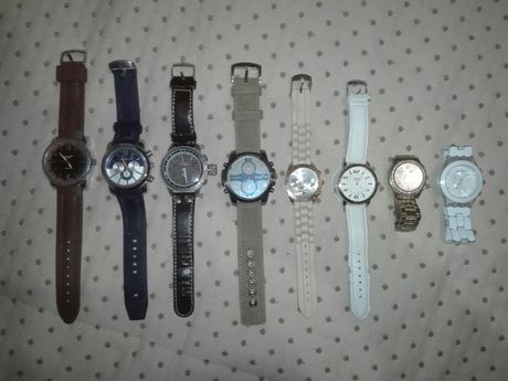 8 relógios