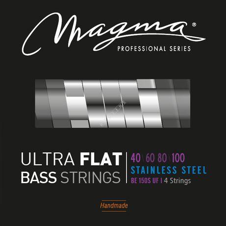 Magma-struny gitara basowa- (40-100)- ultra flat - 4 struny