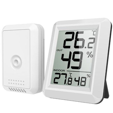 Метеостанция с выносным беспроводным датчиком (термометр + гигрометр)