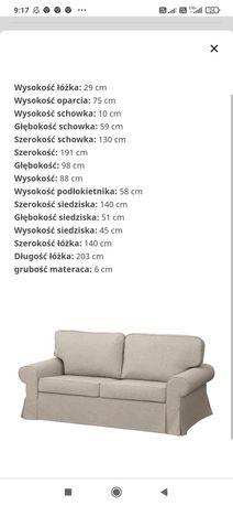 Sofa Ikea EVERTSBERG 2 osobowa