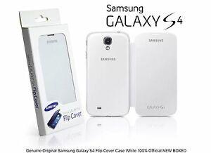 Чехол Original Samsung Galaxy S4 Flip Cover Case White 100% Official