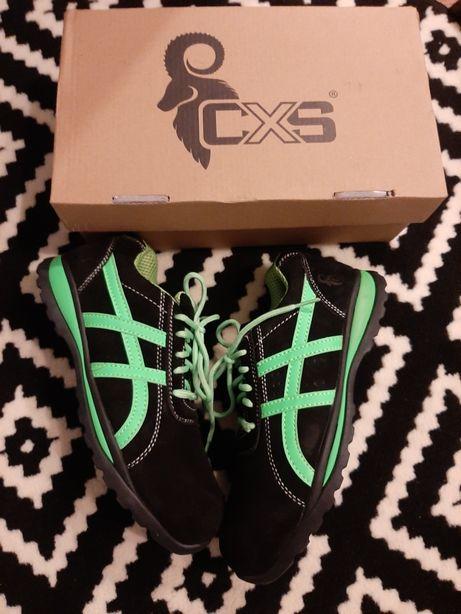 nowe lekkie ochronne buty robocze z pudełkiem jak adidasy r 39 csx