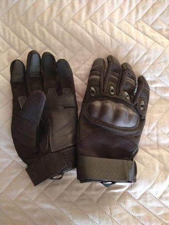 Rękawiczki Motocyklowe Taktyczne r.M