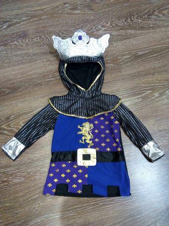 Карнавальный костюм на мальчика Рыцарь Король