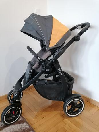 Graco evo xt wózek spacerowy spacerówka duże amortyzowane koła