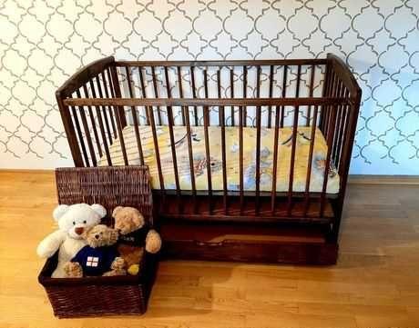 NOWE Łóżeczko niemowlęce 120x60cm z szufladą