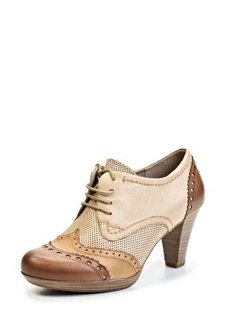 Marco Tozzi Ботильоны ботинки кожаные, 40 размер