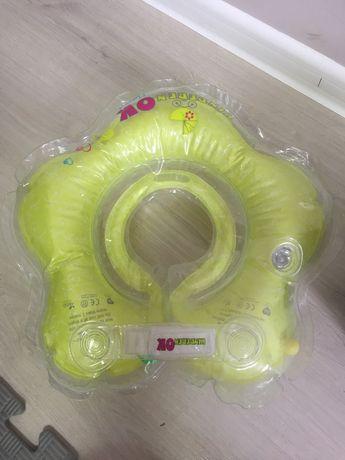 Надувной круг для плавания на шею KinderenOk