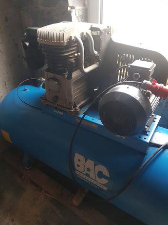 Kompresor sprężarka ABAC 500l 7.5kw 1210l/min piaskowanie