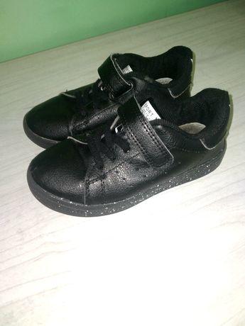 Кеды кроссовки макасины для мальчика или девочки 26р чёрные