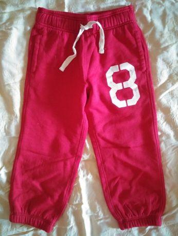 Новые утепленные спортивные брюки на 4-6 лет