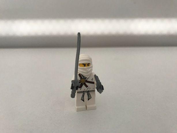 Lego Ninjago Zane biały ninja