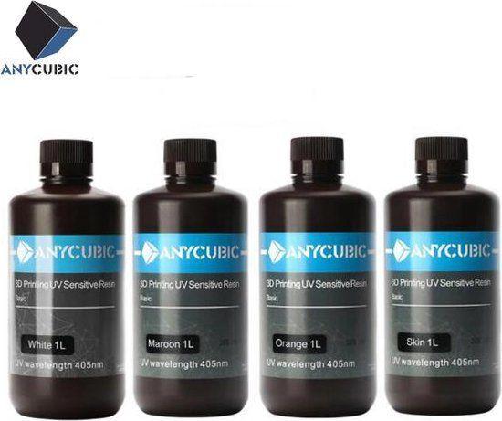 Фотополимерная смола Anycubic (UV Resin)  для 3D Принтер - в наличии