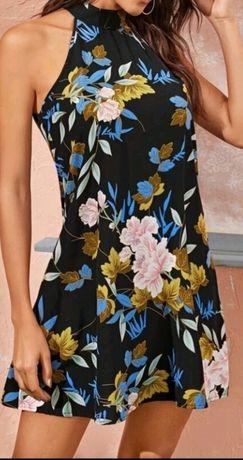 Sukienka wiązana SHEIN