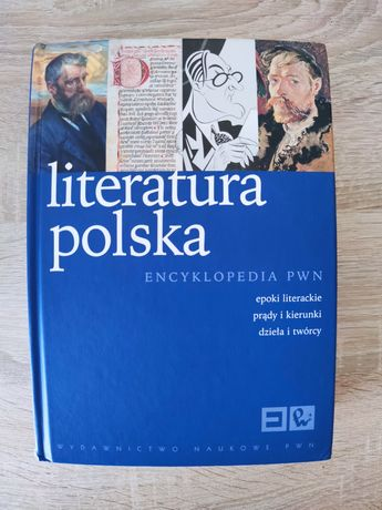 Literatura polska encyklopedia PWN w twardej oprawie