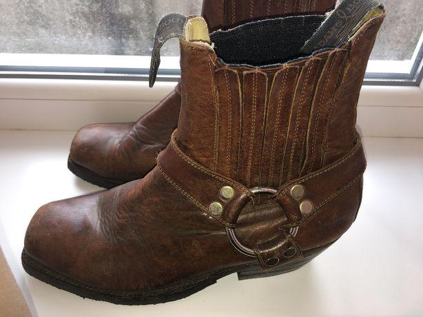 Сапоги кожаные ковбойские Казаки Adams Boot