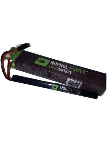 Akumulator Nuprol Bateria Lipo 1200 mah slim stick mała tamyia 7,4