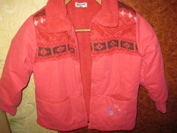 Демисезонная куртка-кофта на девочку