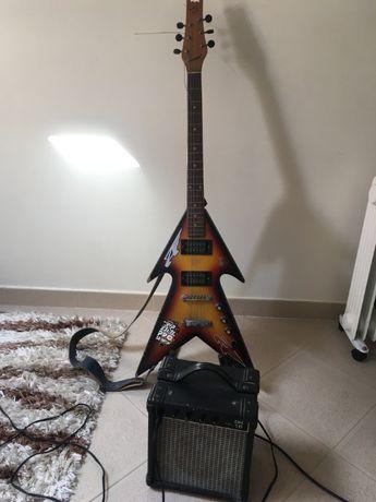 Guitarra Eletrica e Amplificador