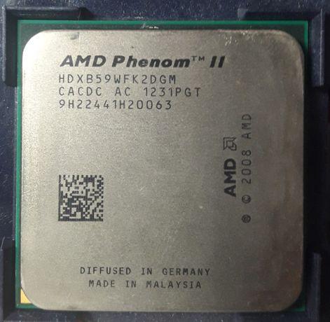 AMD Phenom II X2 B59 s-AM3 3.4GHz/6MB.