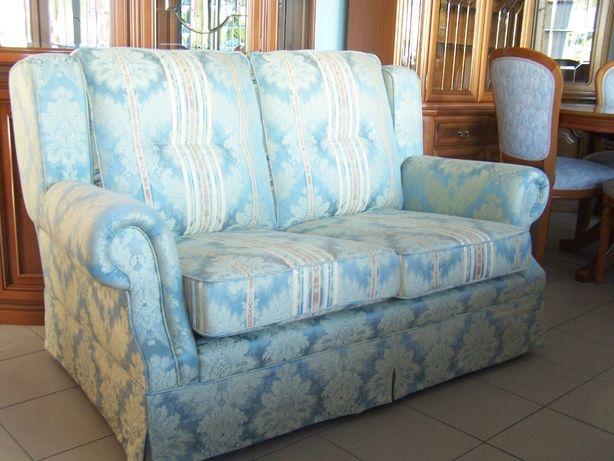 Sofa luksusowa kanapa stylowa kominkowa.