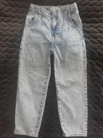 Spodnie jeansy mum jeans Zara r. 134