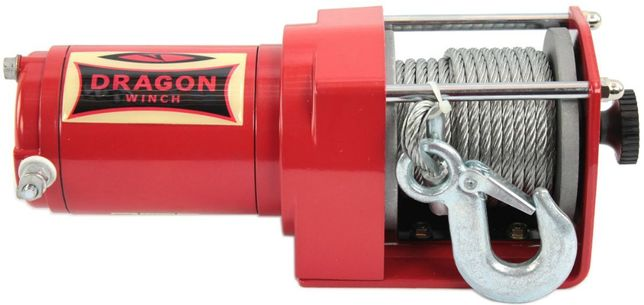 Лебедка Dragon Winch 2000 ST 12В DWM 907кг- 1800кг электрическая