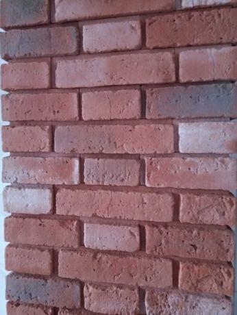 Imitacja starej cegły gipsowa