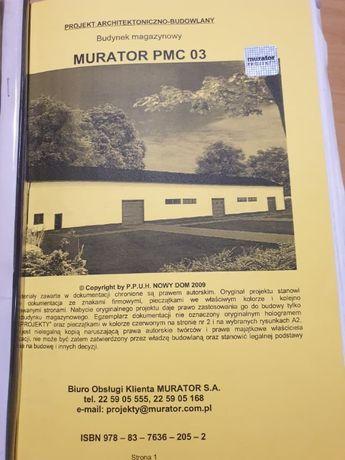 AKTUALNY Projekt magazynu MURATOR PMC 03 (obmiar gratis)