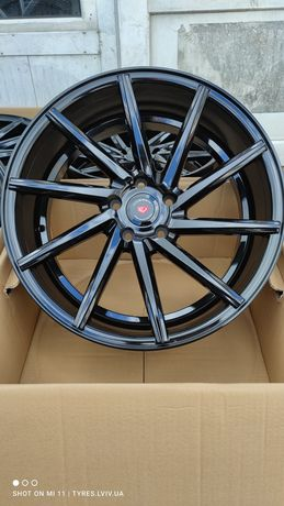 Диски Vossen CVT Black Night 5*114_3 19 Toyota Lexus Honda Acura Mazda