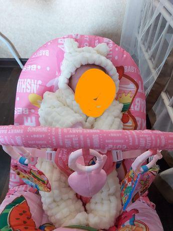 Кресло качеля от 0 и до 3 х месяцев