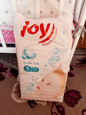 Подгузники joy invisible touch  размер 5