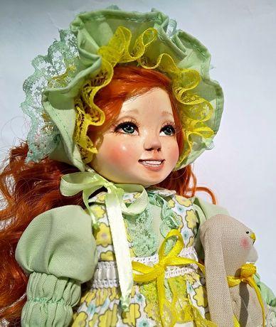 Кукла ручной работи колекционная